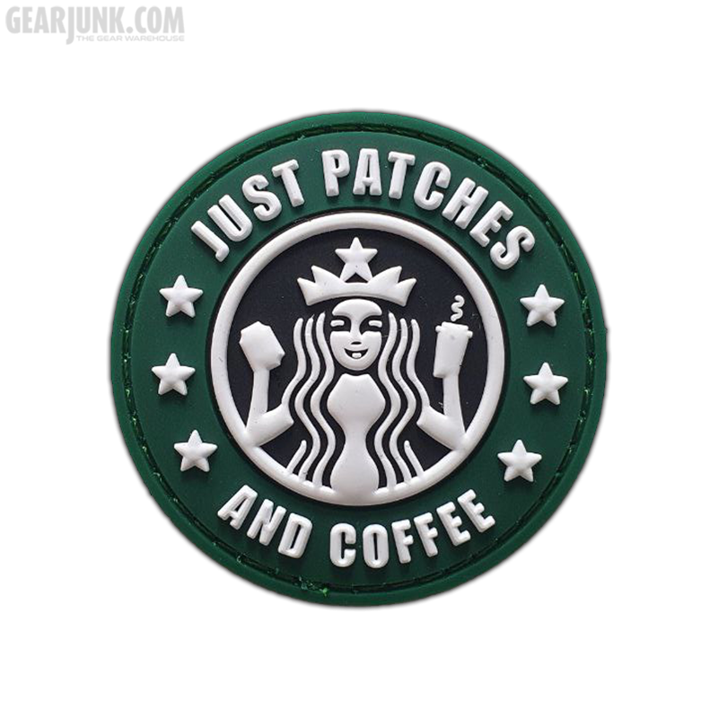 """Patch """"Just Patches and Coffee"""""""