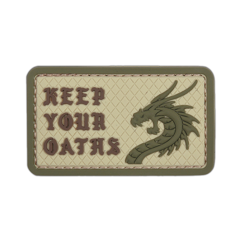 """Patch """"Keep Your Oaths"""", coyote"""