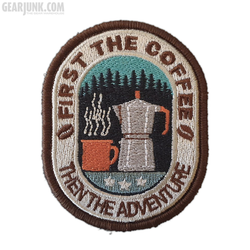 """Patch """"First the Coffee"""""""