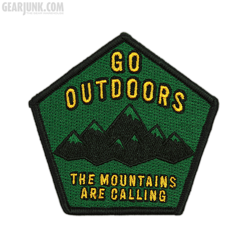 """Patch """"Go Outdoors"""""""