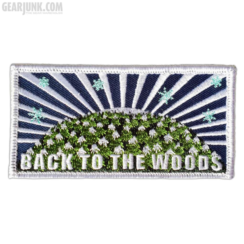 """Patch """"Back to the Woods"""" - Winterwonderland"""